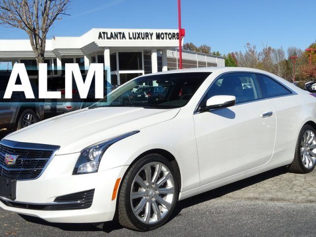Pre-Owned 2016 Cadillac ATS Coupe Standard RWD