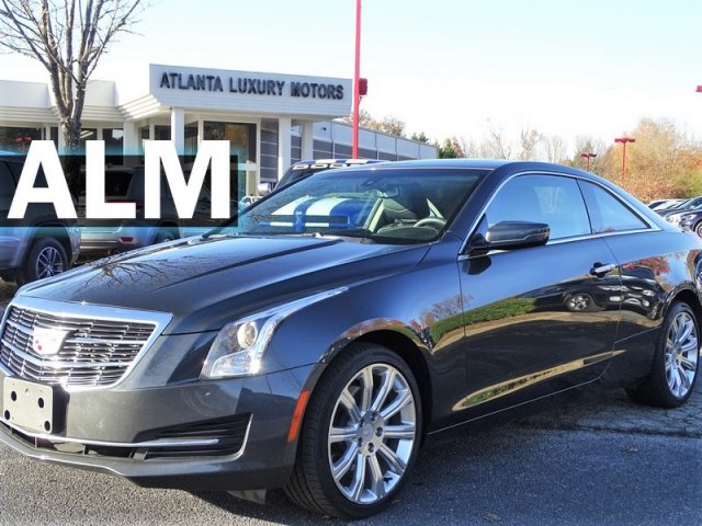 Cadillac Ats Coupe >> Pre Owned 2016 Cadillac Ats Coupe Standard Awd Awd 2dr Car