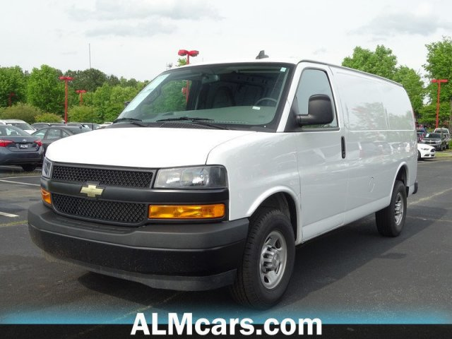 Pre-Owned 2018 Chevrolet Express Cargo Van 2500