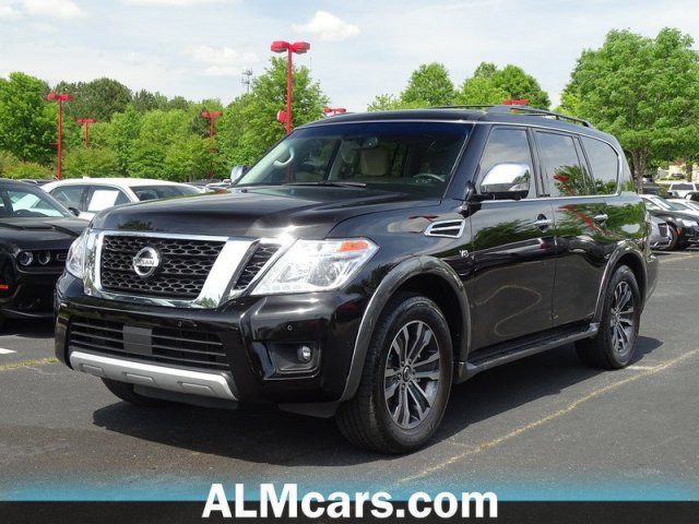 Pre-Owned 2017 Nissan Armada SL With Navigation