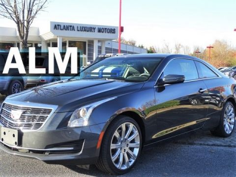 Pre-Owned 2016 Cadillac ATS Coupe Standard AWD