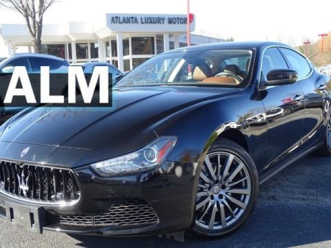 Pre-Owned 2017 Maserati Ghibli Base RWD 4dr Car